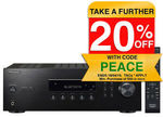 Pioneer SX-10AE Bluetooth Power Music Stereo Receiver/Amplifier Home Audio (Black) $239.20 Delivered @ KG Electronics eBay