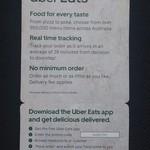$15 off Uber Eats (New Customers)