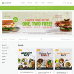 2x Autumn Faves Packs (12 Meals) + 2 Sandwiches for $59.45 Delivered  @ Youfoodz