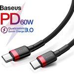 Baseus Type-C to Type-C US $2.99 (~AU $4.41) | Baseus 5A USB Type C US $4.39 (~AU $7.12) Baseus Official Store via AliExpress