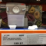 Philips Pasta Maker 2358/06 $199 (Was $329) @ Costco (Membership Required)