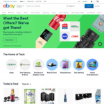 10% off Eligible Items (Min Spend $120, Max Discount $200) @ eBay