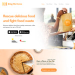 Discounted (up to 70% off) Food via Bring Me Home App
