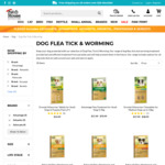 25% off Selected Flea, Worm & Tick Treatments (Advantage, Advocate, Drontal, etc) + Free Delivery Over $29 @ Pethouse