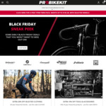 10% off (Min Spend $85, Max Discount $50) @ ProBikeKit Australia