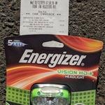 [VIC] Energizer Vision HD+ Headlamp, 250 Lumens $7.01 @ Bunnings, Box Hill