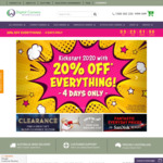 20% off Everything* + $9.95 Shipping @ Digital Camera Warehouse