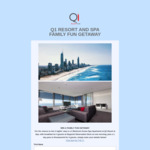 Win a 2-Night Family Fun Getaway at Q1 Resort on The Gold Coast from Q1 Resort and Spa [No Travel]