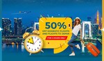 50% off All Domestic Vietnam Flights and Vietnam Flights to Japan, Purchase between 10pm-12am 24th-28th Feb @ Vietnam Airlines