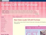 Estee Lauder Gift (Worth $140) with Purchases over $70 at Myer
