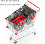Reusable Shopping Bags- Protect Your Groceries - $17.98 + $8.50 Shipping @ The Barista House