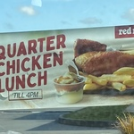 Quarter Chicken Lunch until 4PM $5 @ Red Rooster