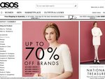 ASOS Up to 70% off Clearance Free Shipping