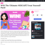Win 1 of 23 Nescafé Self-Care Packs Worth Up to $1,000 from MamaMia/Nestlé