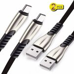 2 Pack-USB to Micro/Type C Charging & Data Cable 1M $7.92 (20% off) + Delivery ($0 with Prime/ $39 Spend) @ Luoke Amazon AU