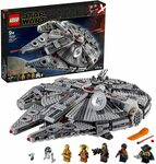 LEGO Star Wars: The Rise of Skywalker Millennium Falcon 75257 $224.29 Delivered @ Amazon AU