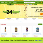 iHerb: 24% off Sitewide + 5% Cashback from Cashrewards & ShopBack (Free Shipping on Orders over $56.82)