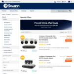 25% off RRP, 4K DVR Security Systems @ Swann