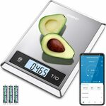 RENPHO Digital Kitchen Scale with Smartphone App $24.99 (Save $10) + Delivery ($0 with Prime/ $39 Spend) @ AC Green via Amazon