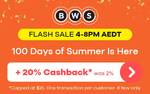 BWS: 20% Cashback (Cap $25, 4pm-8pm AEDT, Non-Mobile Orders Only) @ ShopBack