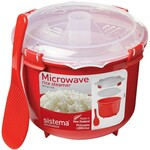 Sistema Microwave Rice Steamer 2.6L (Red) $5.50 @ Big W ($0 C&C/in Store) / Amazon AU (Expired)
