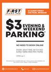 [QLD] Night and Weekend CBD Parking $3 Flat Rate @ 53 Albert St, Brisbane