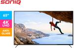 SONIQ 65-Inch UHD DVB-T LED TV $489 + Delivery @ Catch