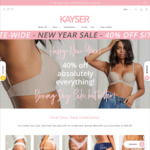 40% off Sitewide @ Kayser Lingerie