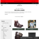 RM Williams Comfort & Dynamic Flex Craftsman Boots $460 (RRP $595) + Shipping @ Everything Australian