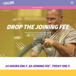 $0 Gym Membership Joining Fee @ Anytime Fitness (Excludes WA)