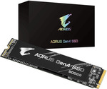 Gigabyte AORUS Gen4 M.2 NVMe 500GB SSD $134 (RRP $169) + Shipping @ Rosman Computers
