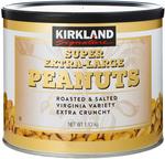 Kirkland Signature Super XL Peanuts 3 x 1.13kg ($0.39 per 100 g) $12.99 Delivered @ Costco (Membership Required)