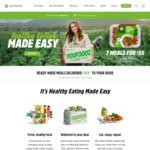 Youfoodz 9 Meals $69 + 20% Cashback from Cashrewards @ Youfoodz