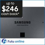 """1TB Samsung 870 QVO 2.5"""" SSD for $122.40 Delivered ($106.40 after Samsung Cashback) @ Futu Online eBay"""