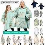 Oversize Wearable Fleece Blanket Hoodie Jumper $39.99 (eBay Plus $38.99) Delivered @ SplendidCo via eBay AU