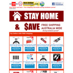 Free Shipping Australia Wide during Lockdown Period @ Shopping Square