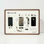 Framed Disassembled iPhone 4S/Samsung Galaxy S3/ BlackBerry Bold 9900 Artwork US$70.99 / A$96.71 Shipped @ Lululook