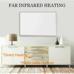 800W Infrared Radiant Heater Panel Wall Mounting $169.32 (Was $249) Delivered @ eBay Energywisechoice