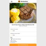 [VIC] Angus Rump/Wagyu Steak Meal and Side $22.90 (Normally $32) @ Macelleria in Glen Waverley via MemberBuy App