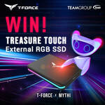 Win a Teamgroup Treasure Touch External RGB SSD (1TB) from TeamGroup