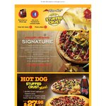 Pizza Hut Coupons - 2x Desserts $6, 1.25l Pepsi $2.50, Legends Pizza $12.95 Delivered
