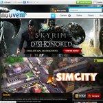 [Nuuvem] Skyrim Steam Key $20, Dawnguard $10, Dragonborn $10, Hearthfire $5, Dishonored $30