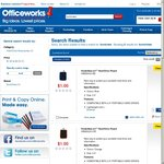 "Officewworks Konichiwa 2.5"" Hard Drive Pouch $1"