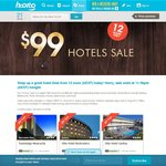 $99 Hotels Sale - Rooms for $99 Per Night across Australia - Sale Ends 11:59PM Tonight!