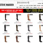 Steve Madden - Further 50% off Sale & Outlet Boots - Leather Boots $40-50