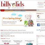 TAKE 20% OFF Storewide @ Billy Lids. Online Shopping for BABY, TODDLER & KIDS