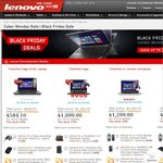 Lenovo Cyber Monday Sale - ThinkPad Yoga from $1,099 and Edge E540 Full HD from $633.60