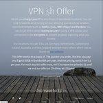 VPN.sh £3 Per Year Offer