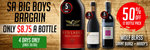 Big Boys Bargains: South Australia Red Wines for Only $8.75 a Bottle (50% OFF) @ Wine Sale