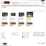 Lexar 32GB 600x 90mb/s MicroSD, $21.95 - Lexar 128GB 400x 60mb/s Compact Flash, $149.95   PCByte